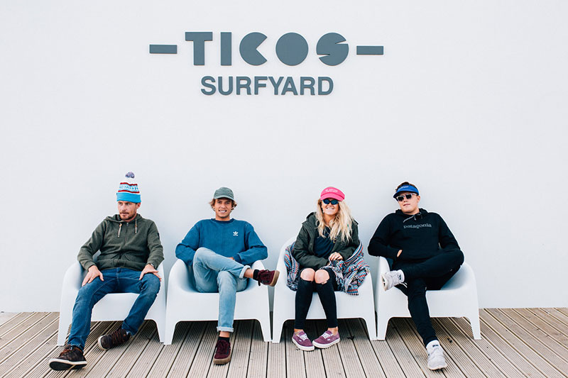 El Tico surf school surf tutors